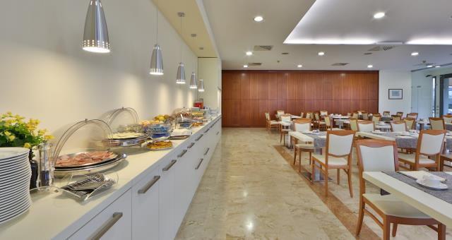 Best Western Park Hotel, Piacenza-breakfast room