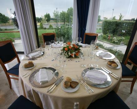 Table Restaurant Park Hotel Piacenza