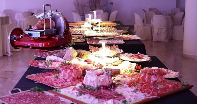 "Buffet restaurant ""La Veranda"" dishes, selection for any occasion"