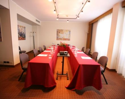 Discover the conference rooms in the Best Western Park Hotel and organize your events in Piacenza