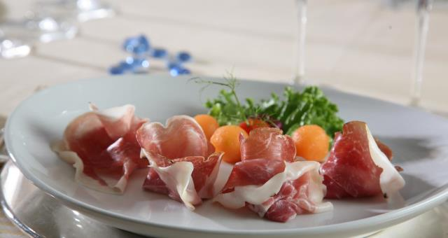 Flat purely summer to enjoy in the restaurant at the Best Western Park Hotel Piacenza