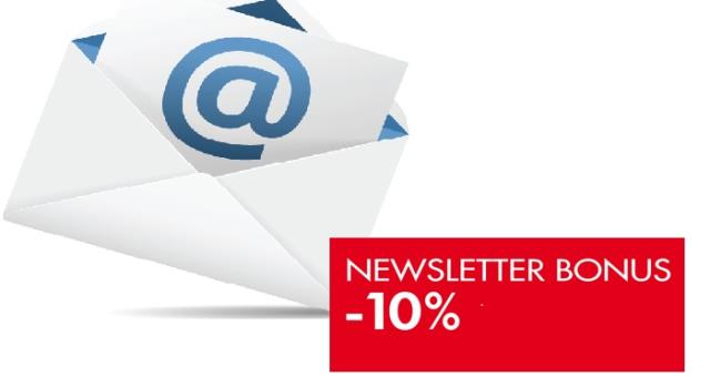 If you subscribe to our newsletter you will receive the voucher of 10% discount on the day.