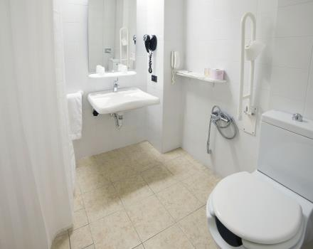 bathroom with facilities for disabled people